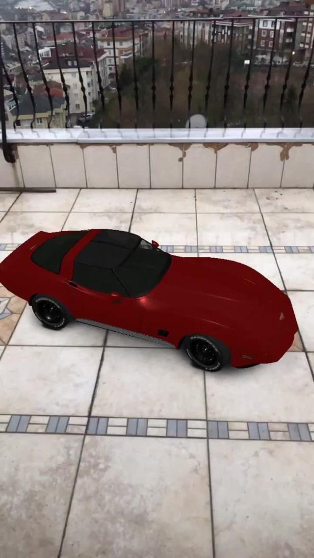 burakartist Instagram filter Corvette