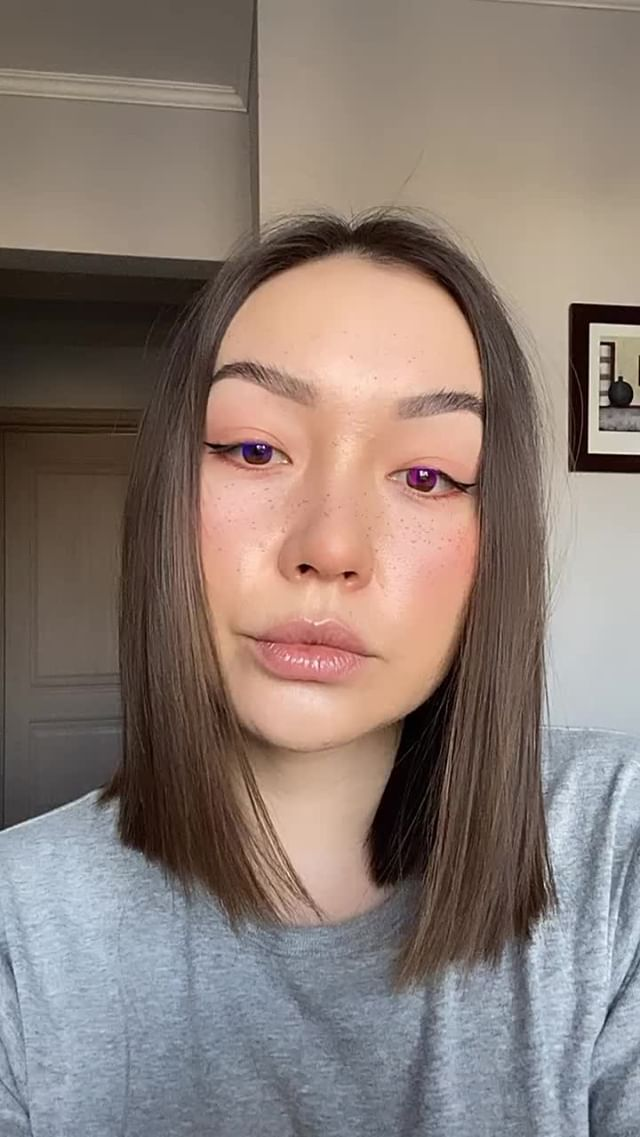 Instagram filter colorful lenses