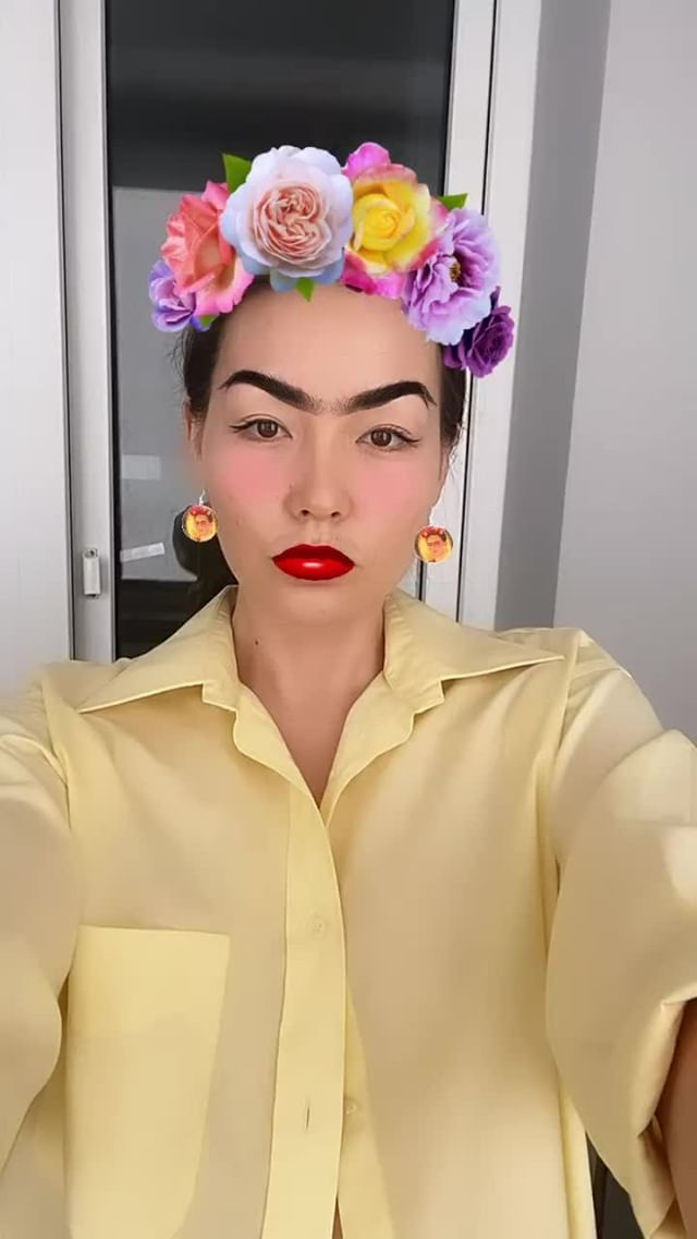 Instagram filter Frida