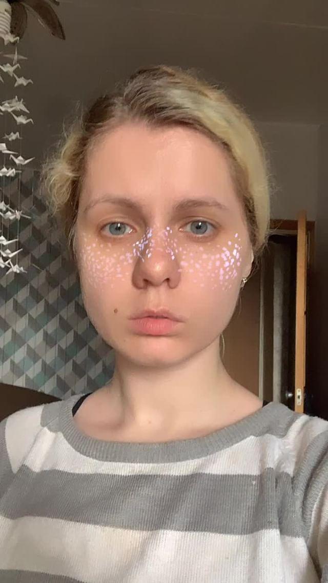 Instagram filter Shiny freckles