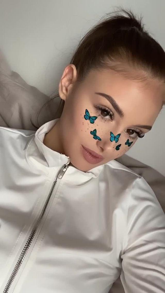 Instagram filter Butterfly effect