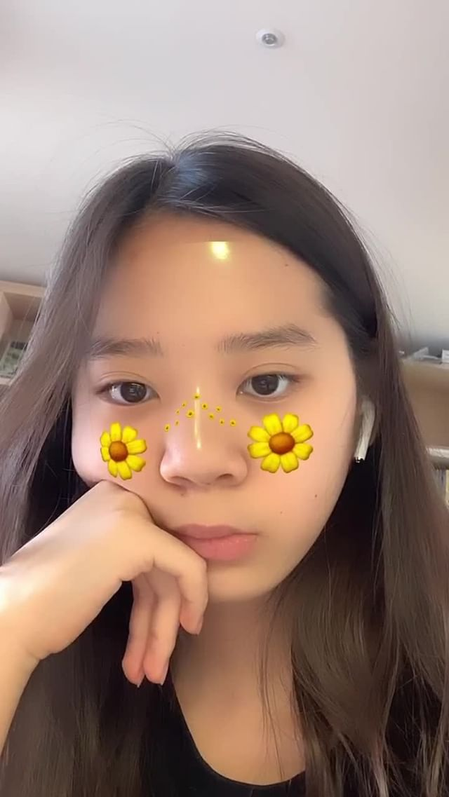 Instagram filter Sunflower blush