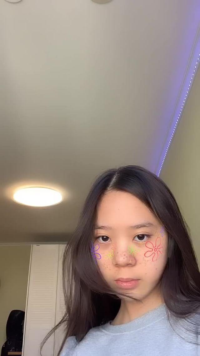 Instagram filter spongebob blush