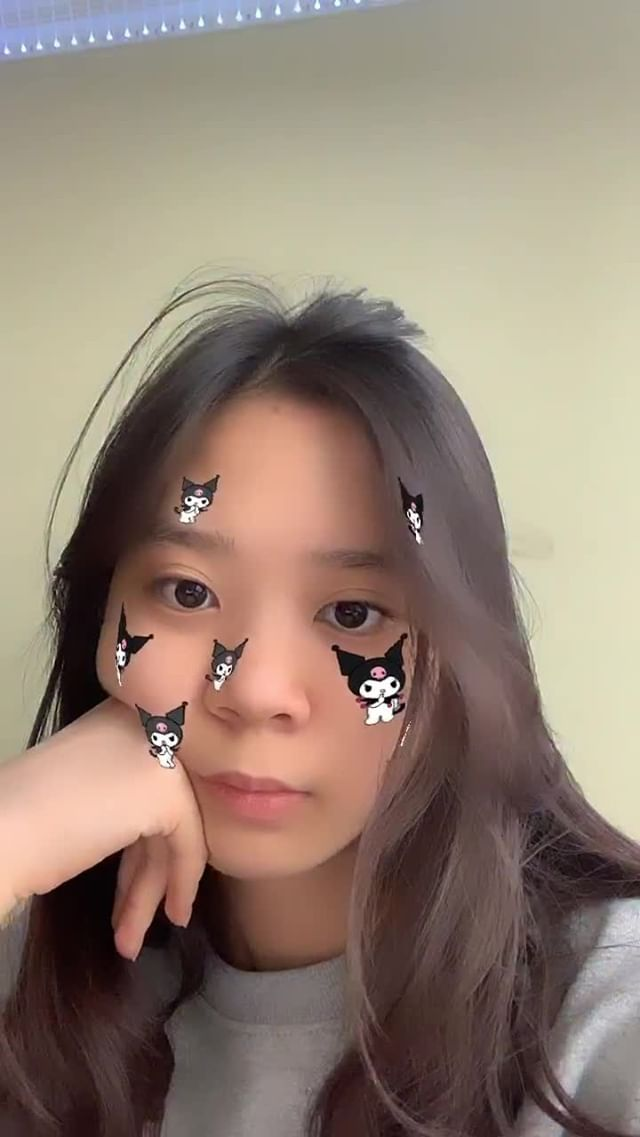 Instagram filter kuromi