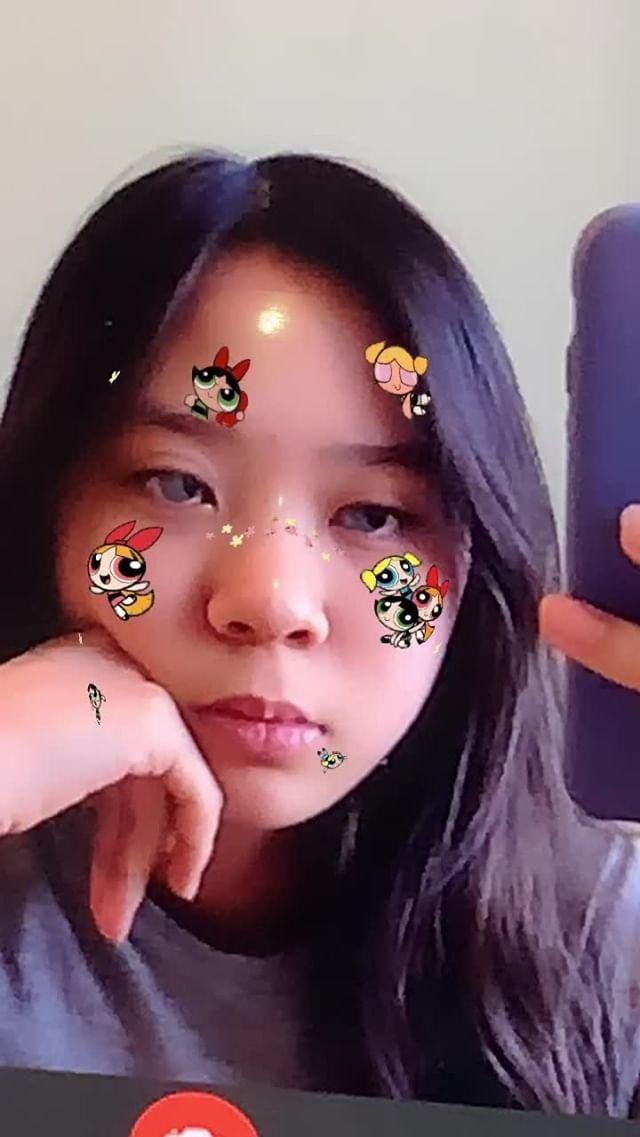 Instagram filter Power puff girls