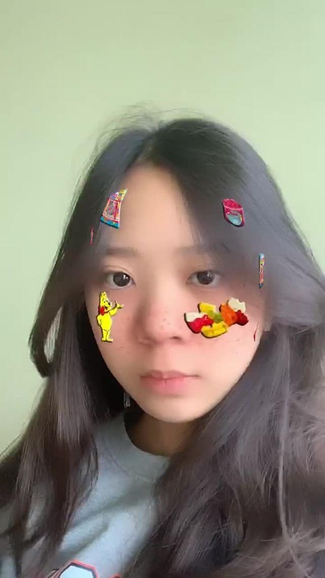 Instagram filter Haribo blush