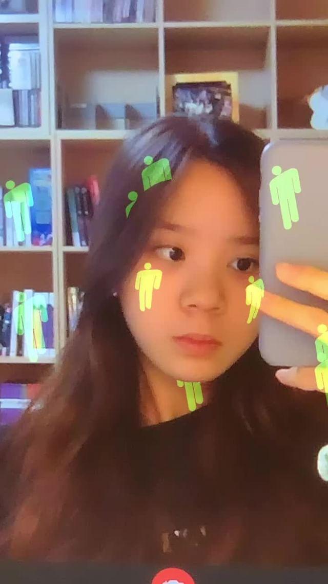 julia.hyojeong Instagram filter Blohsh