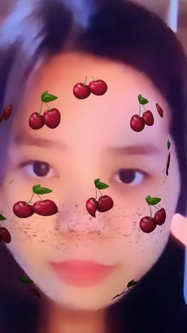 Instagram filter Cherry