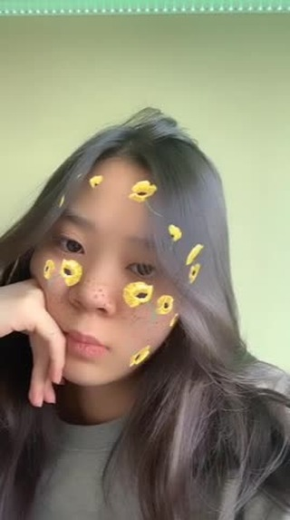 Instagram filter Flower blush