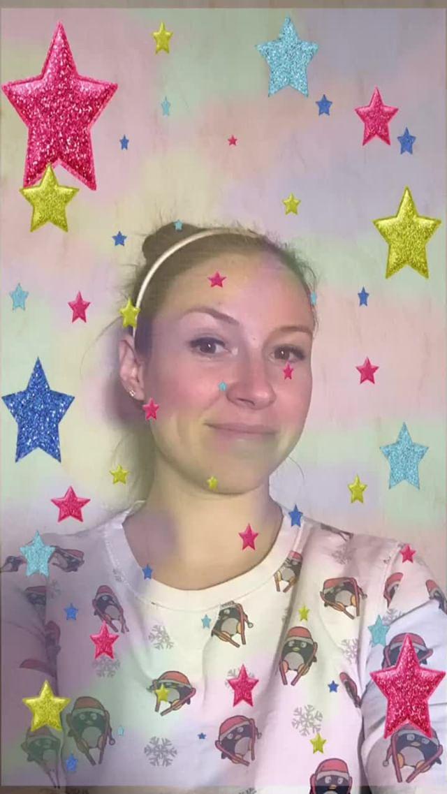 natachaborisovnna Instagram filter stars are falling