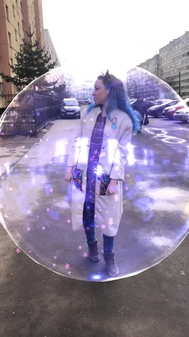 natachaborisovnna Instagram filter В пузыре