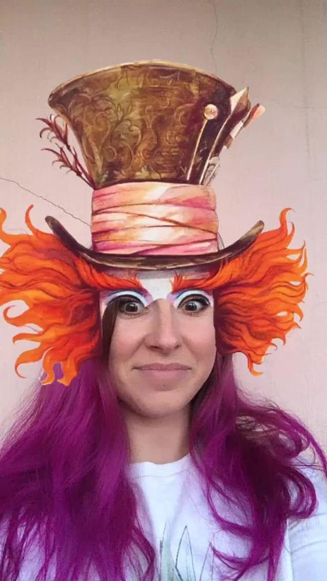 natachaborisovnna Instagram filter crazy hatter