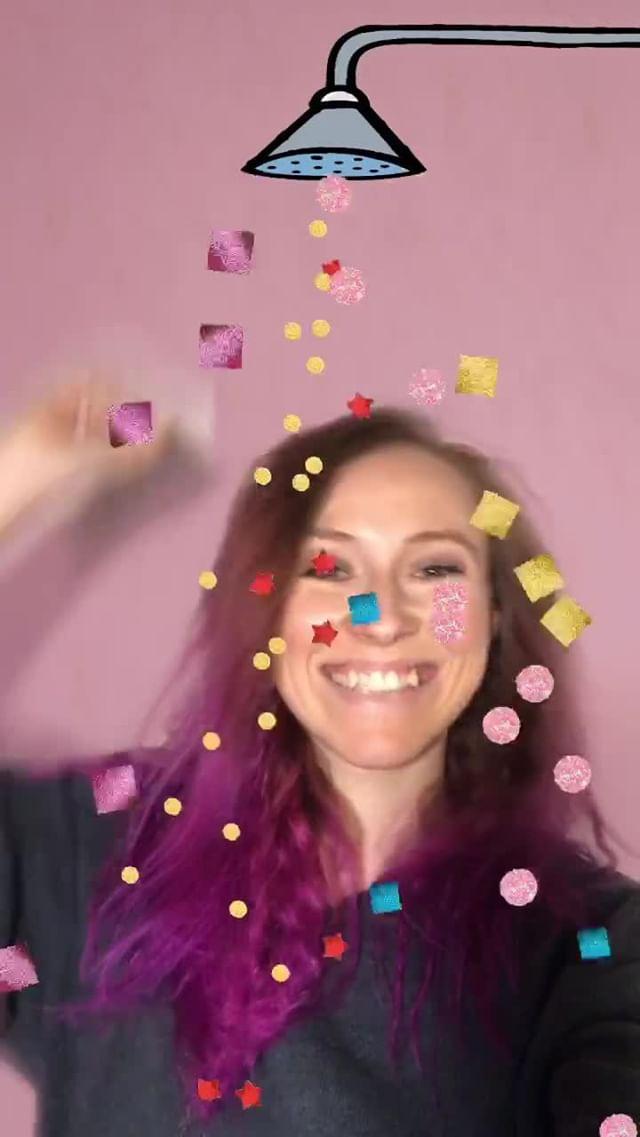 natachaborisovnna Instagram filter pink shower