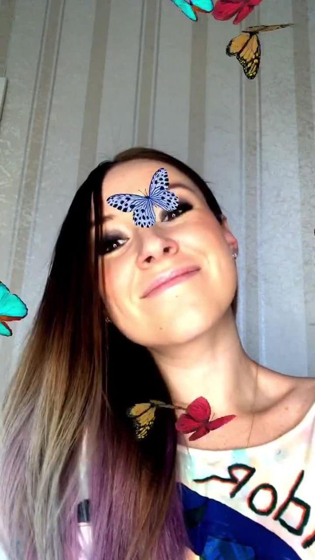 natachaborisovnna Instagram filter Бабочки