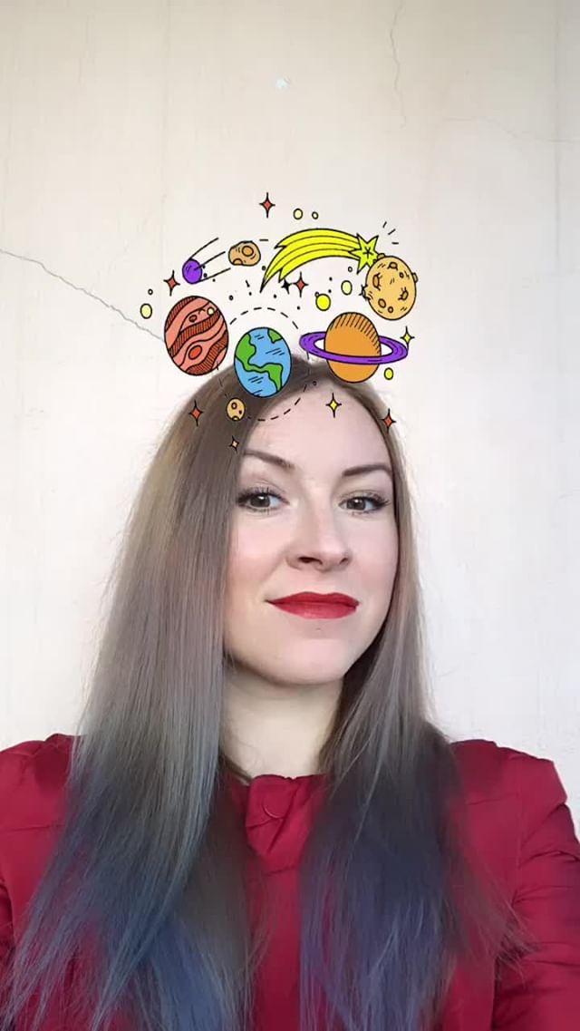natachaborisovnna Instagram filter parade of planets