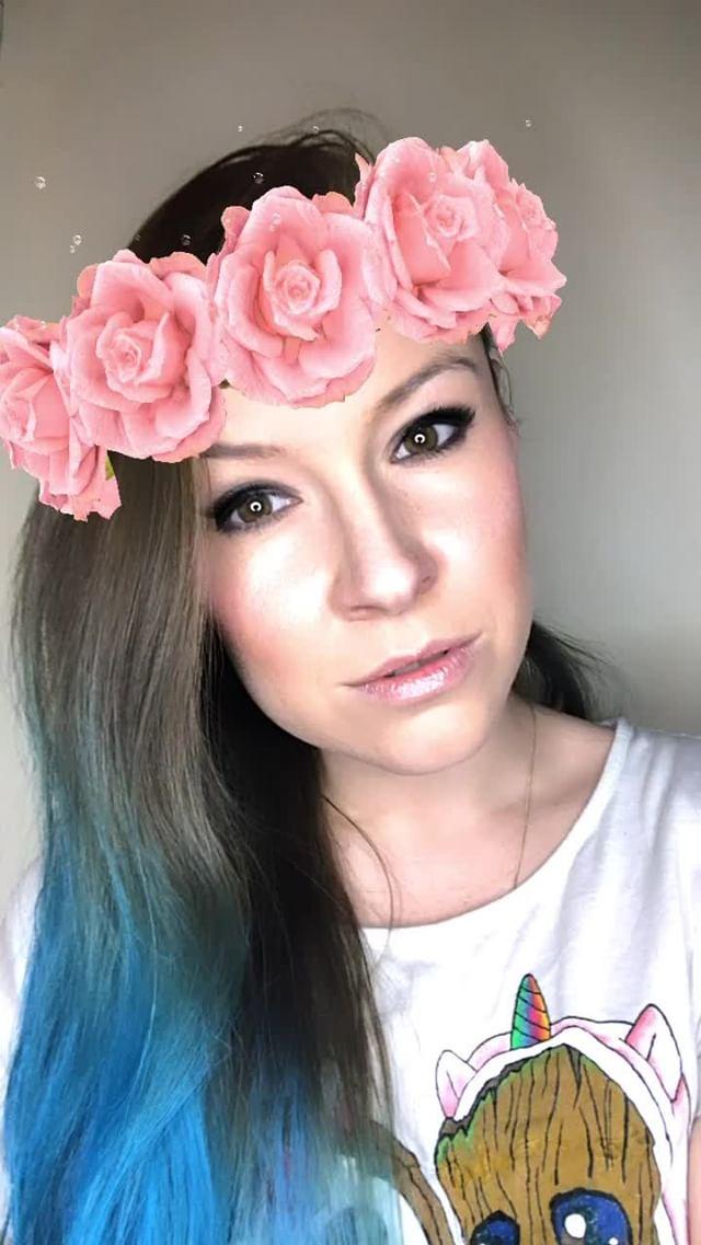natachaborisovnna Instagram filter Розовый венок