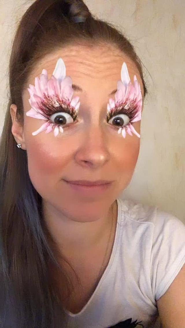 natachaborisovnna Instagram filter flower eyes