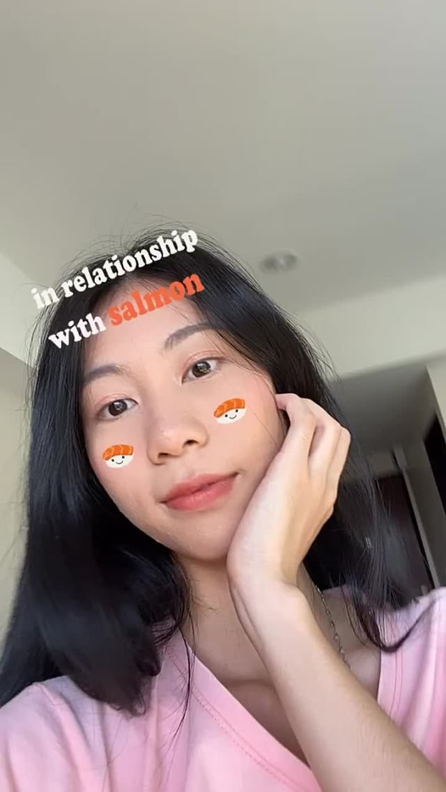 Instagram filter SALMON