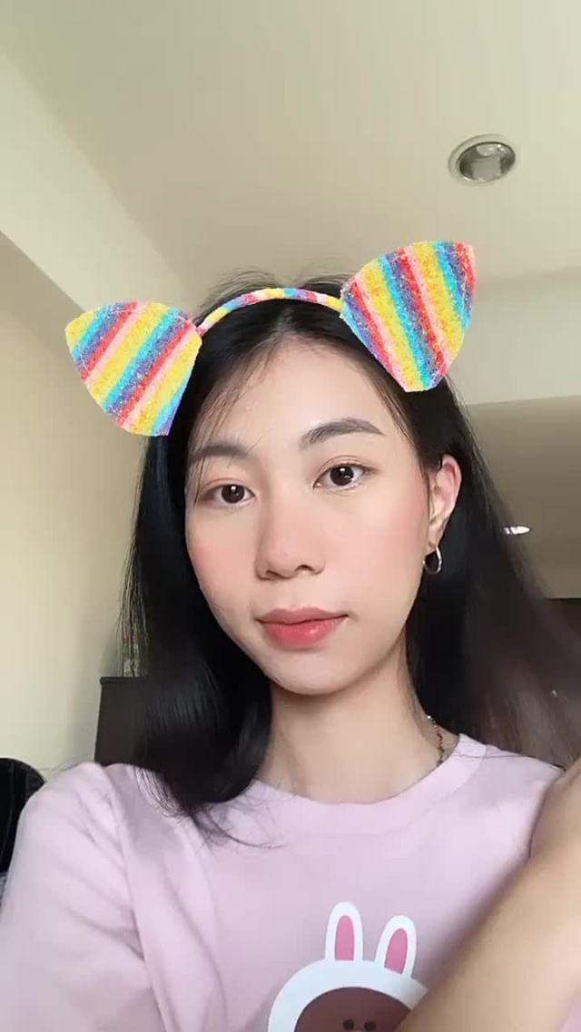 Instagram filter rainbow hair band