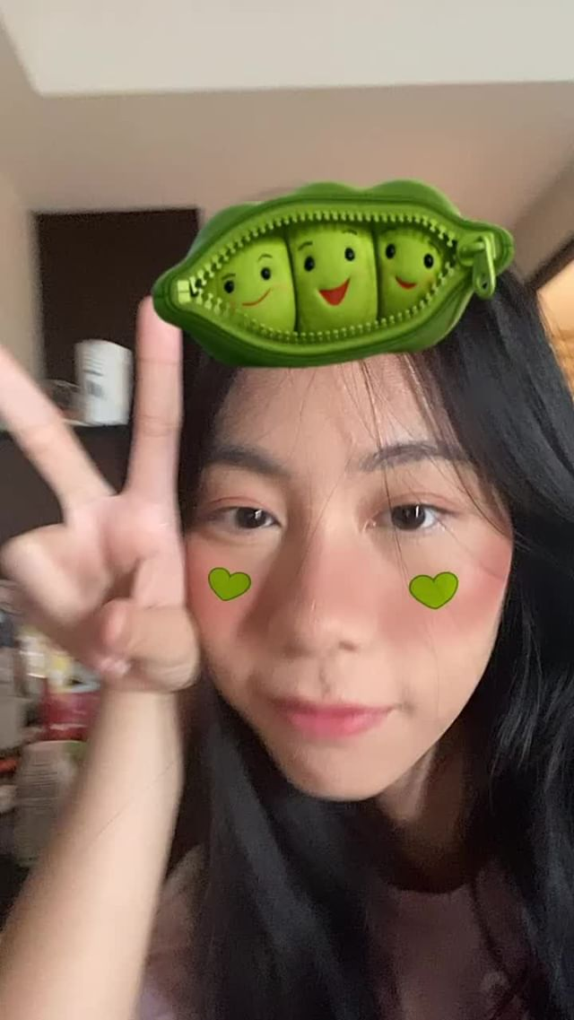 Instagram filter Peas in a Pod