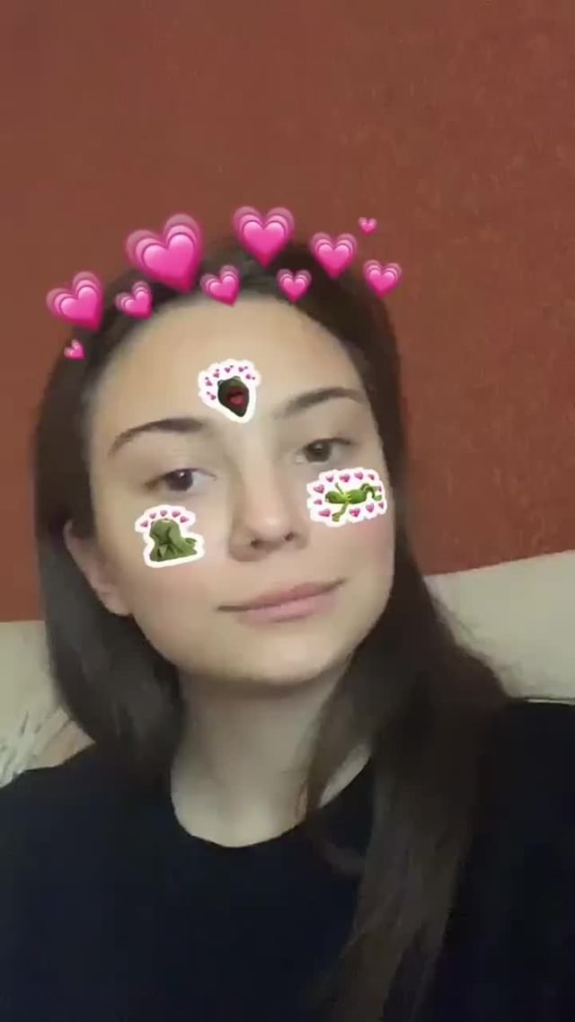 Instagram filter Зелёная лягушечка