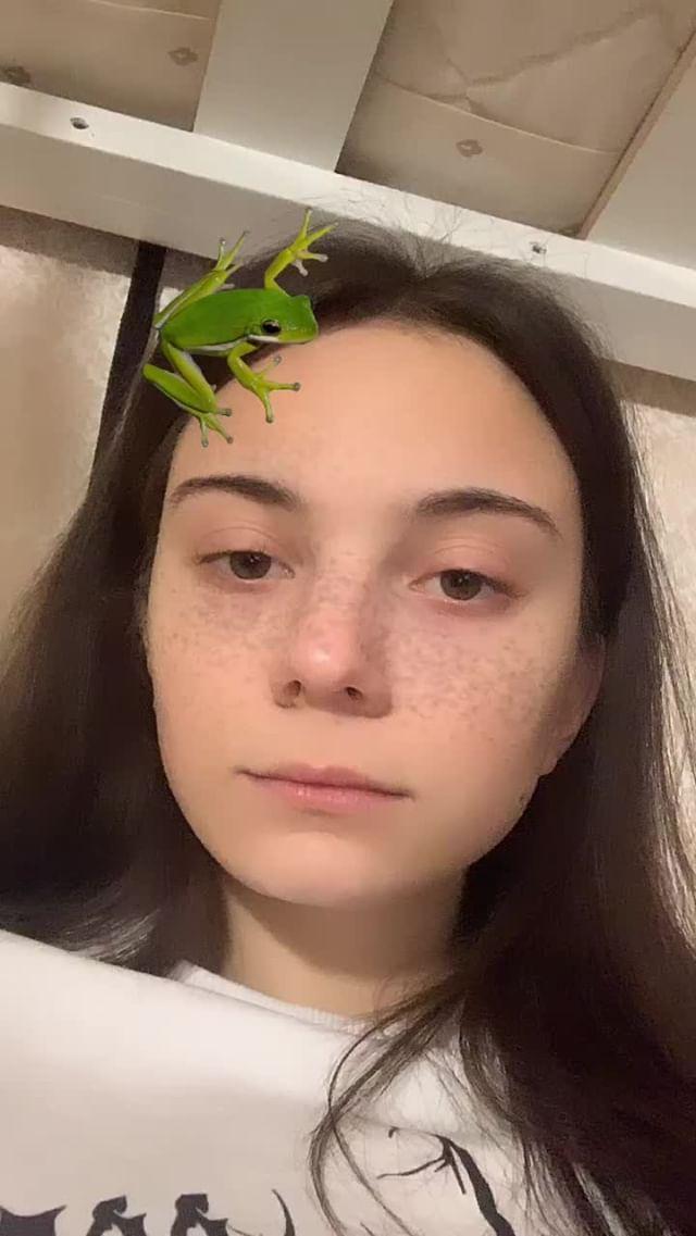 Instagram filter лягуш0чка