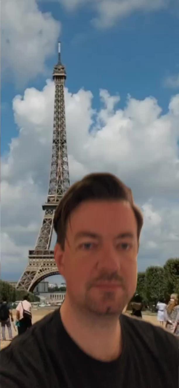 Instagram filter PARIS