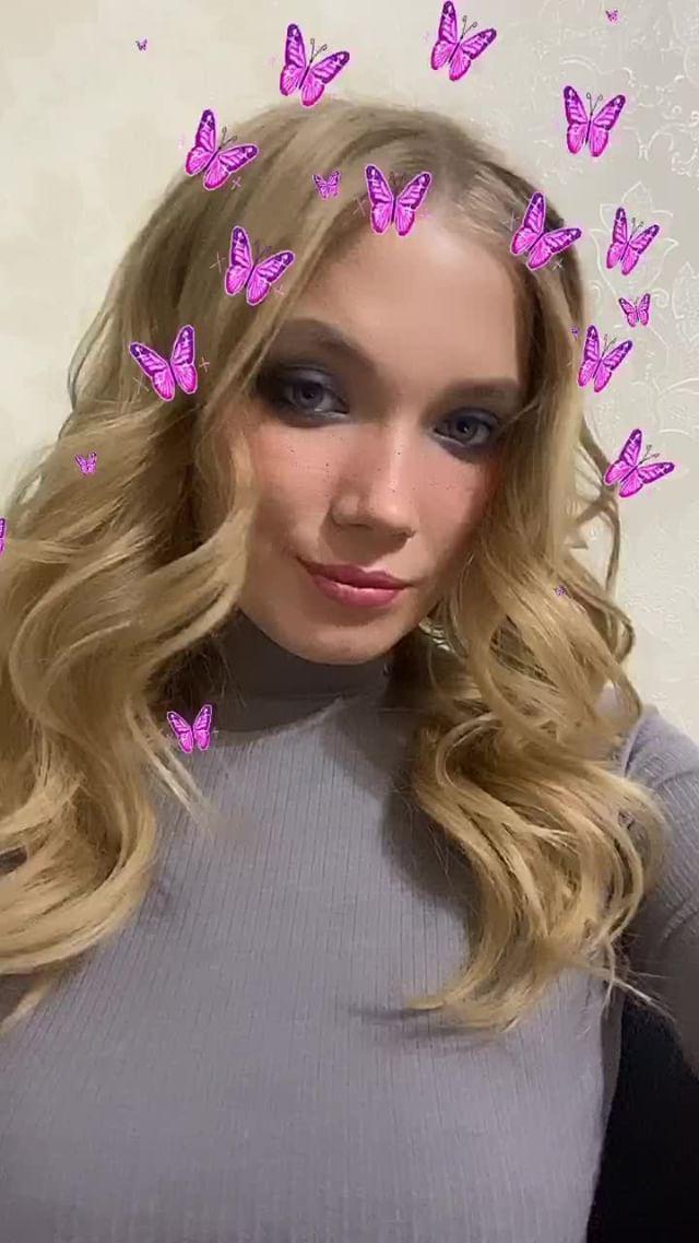 Instagram filter бабочки