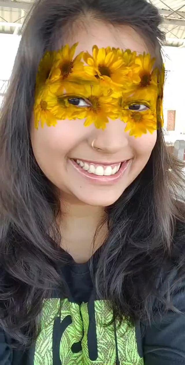 Instagram filter Sunflower Masquerade