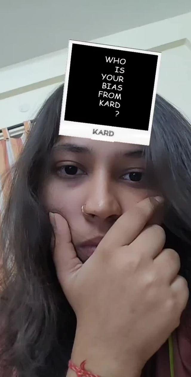 Instagram filter KARD_BIAS?