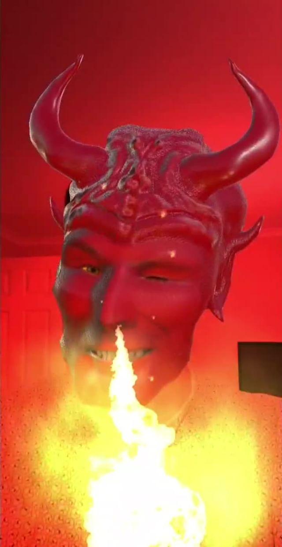 rosterizer Instagram filter Red Devil