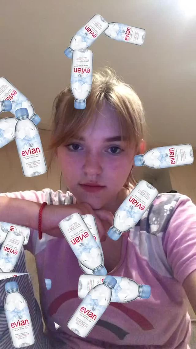 Instagram filter выпил воды???
