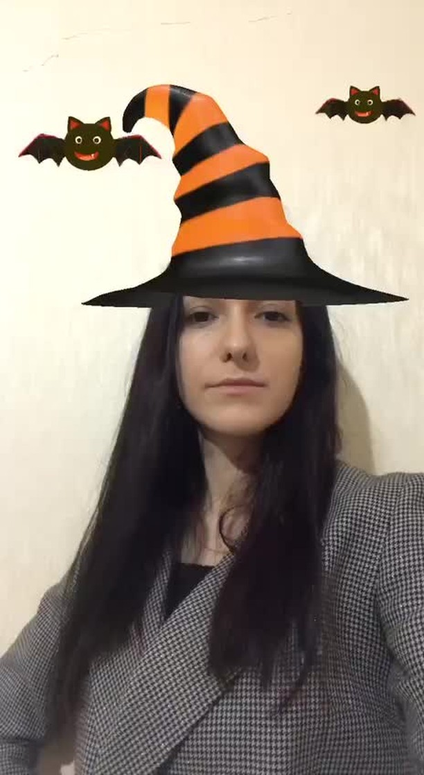 Instagram filter Witch Hat Orange