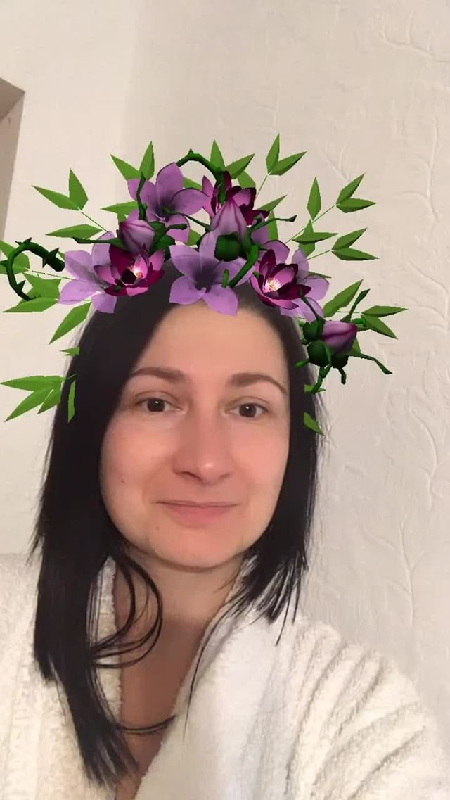 Instagram filter Wreath