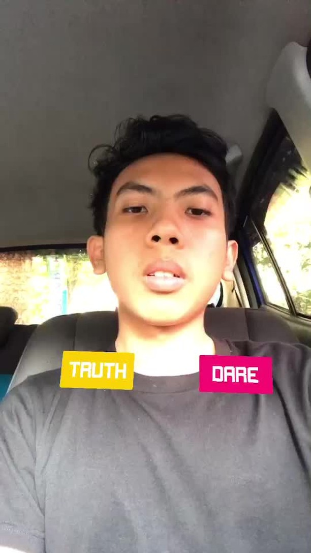 Instagram filter Truth Or Dare