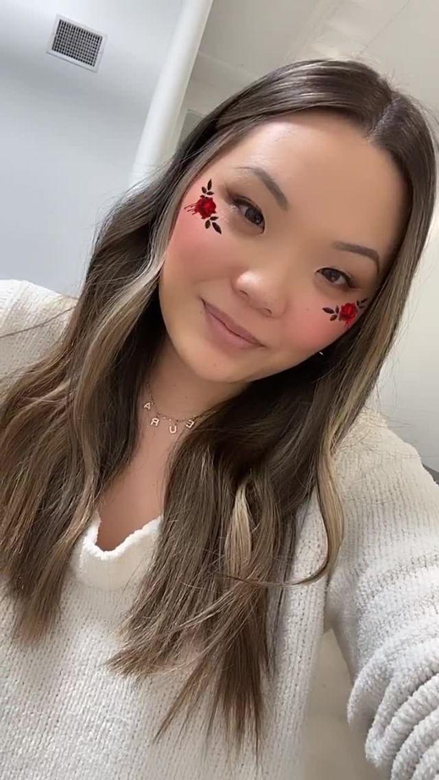 Instagram filter Colourpop Valentine