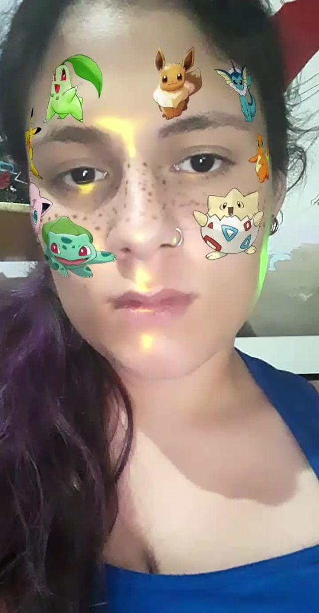 Instagram filter Pokemon