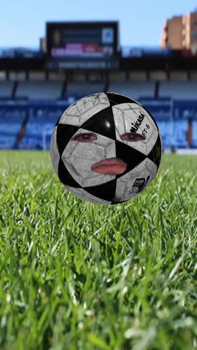 Instagram filter BALON DE FUTBOL