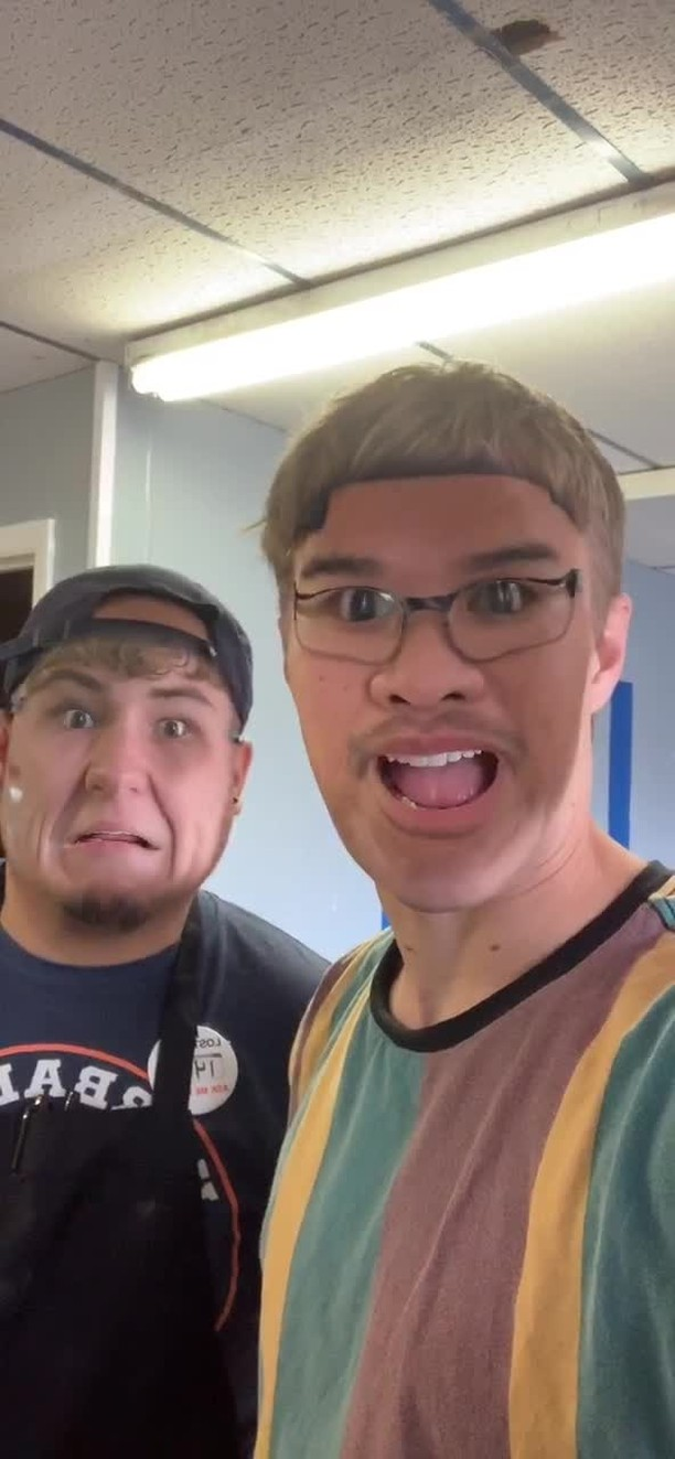 Instagram filter FACESWAP