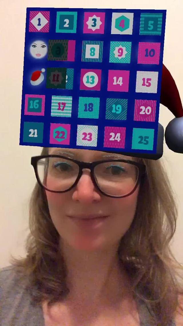 inboundingbox Instagram filter Advent Calendar