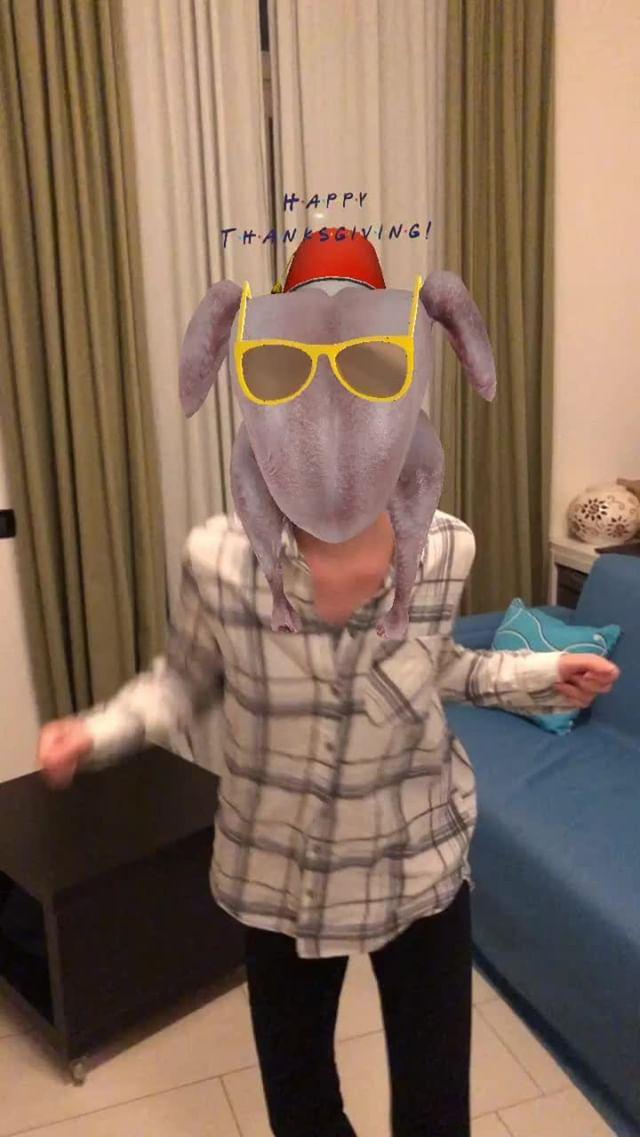 inboundingbox Instagram filter Turkey head