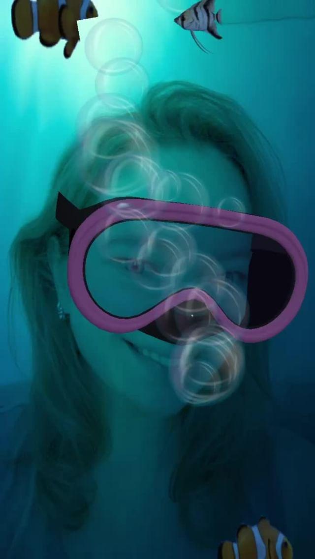 inboundingbox Instagram filter Underwater