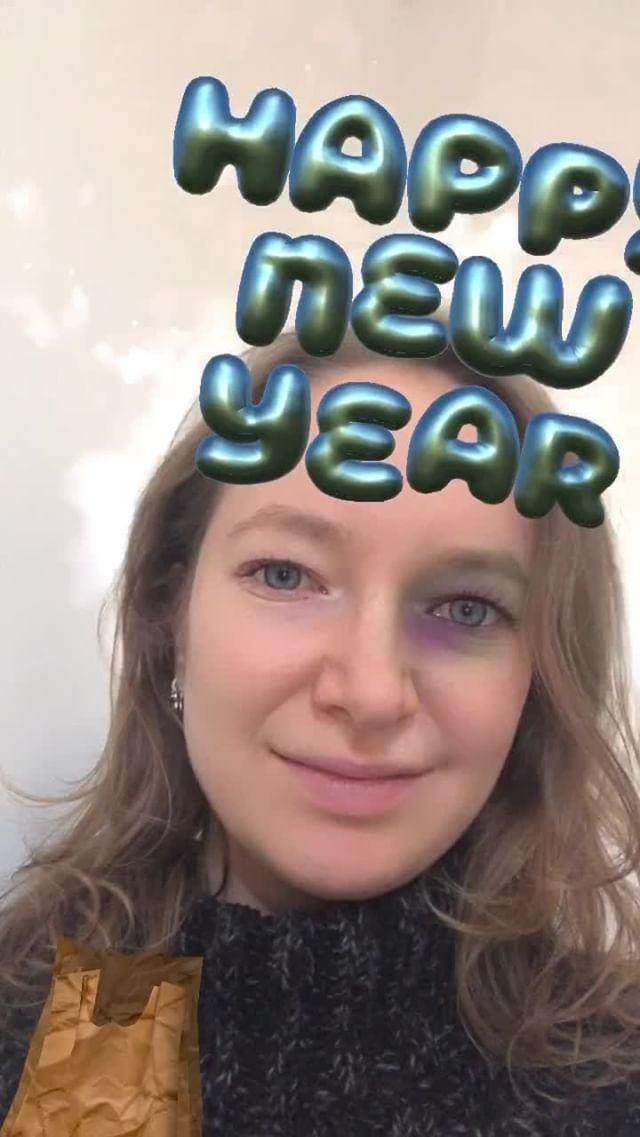 Instagram filter Happy New Year