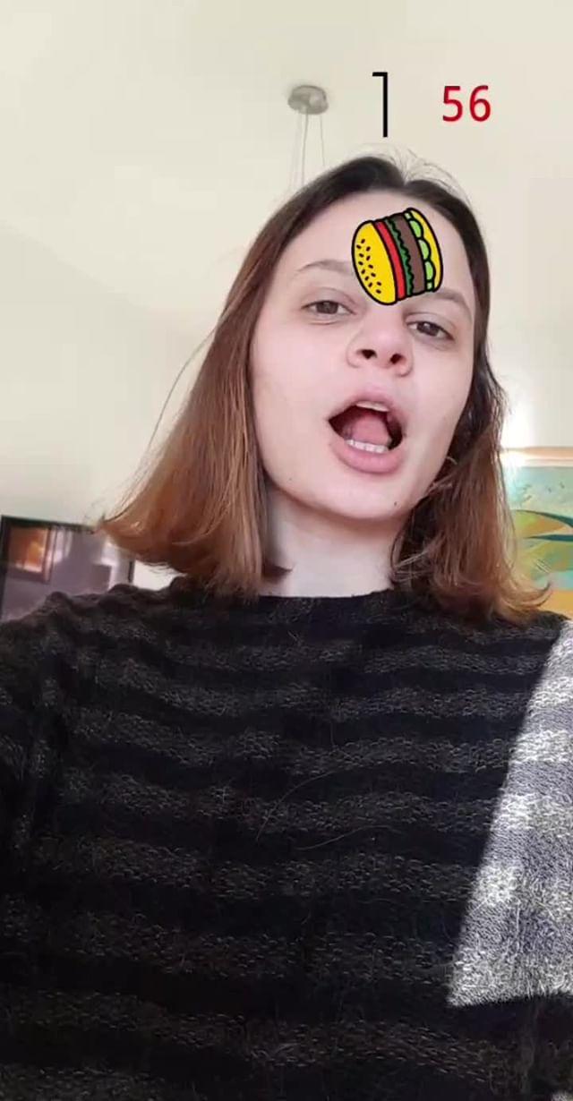 gdonisi Instagram filter Eating Game