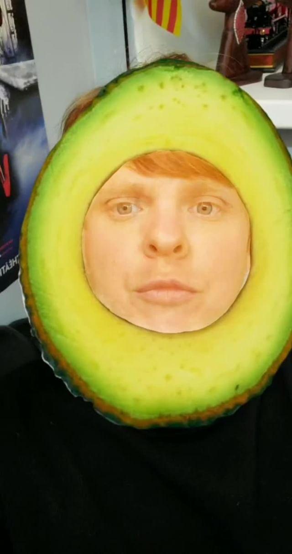 Instagram filter Зелёный Авокадо