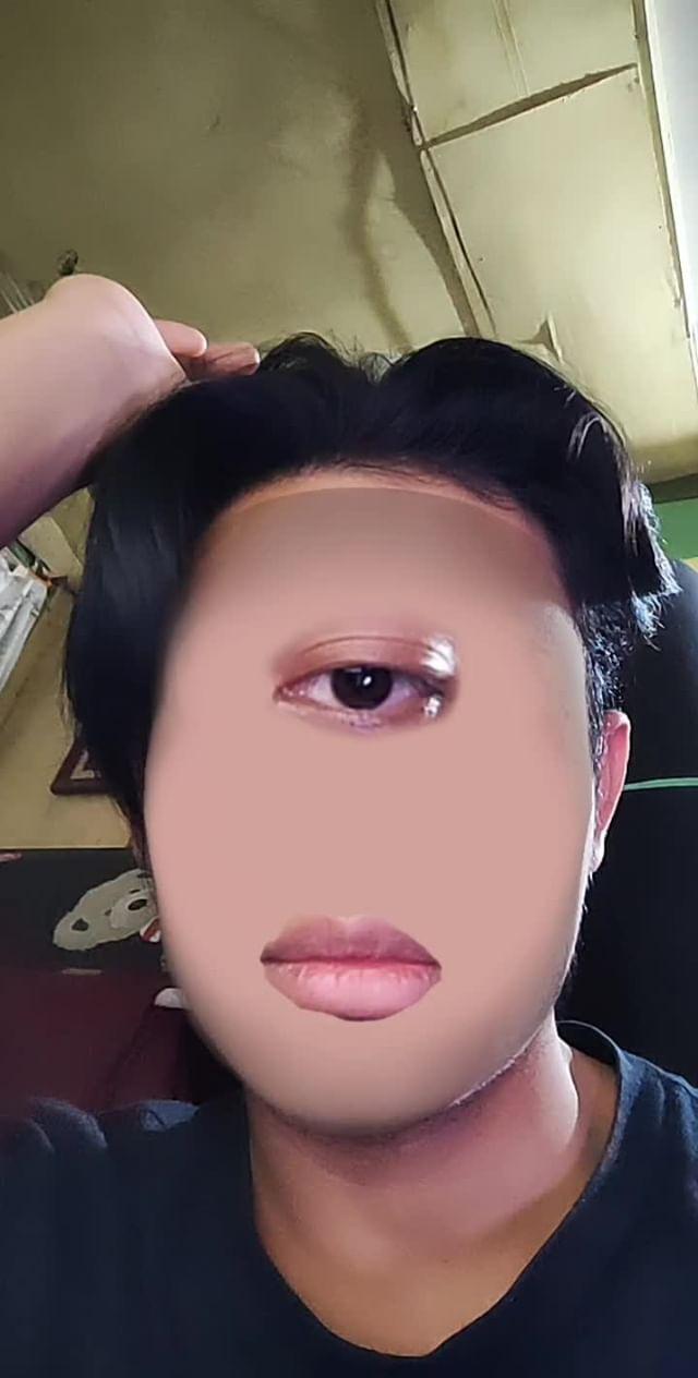 Instagram filter Anak Dajjal 👀