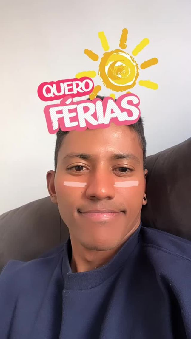 Instagram filter Férias
