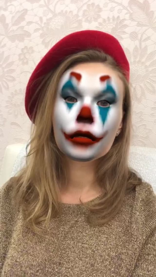 Instagram filter Jokermask
