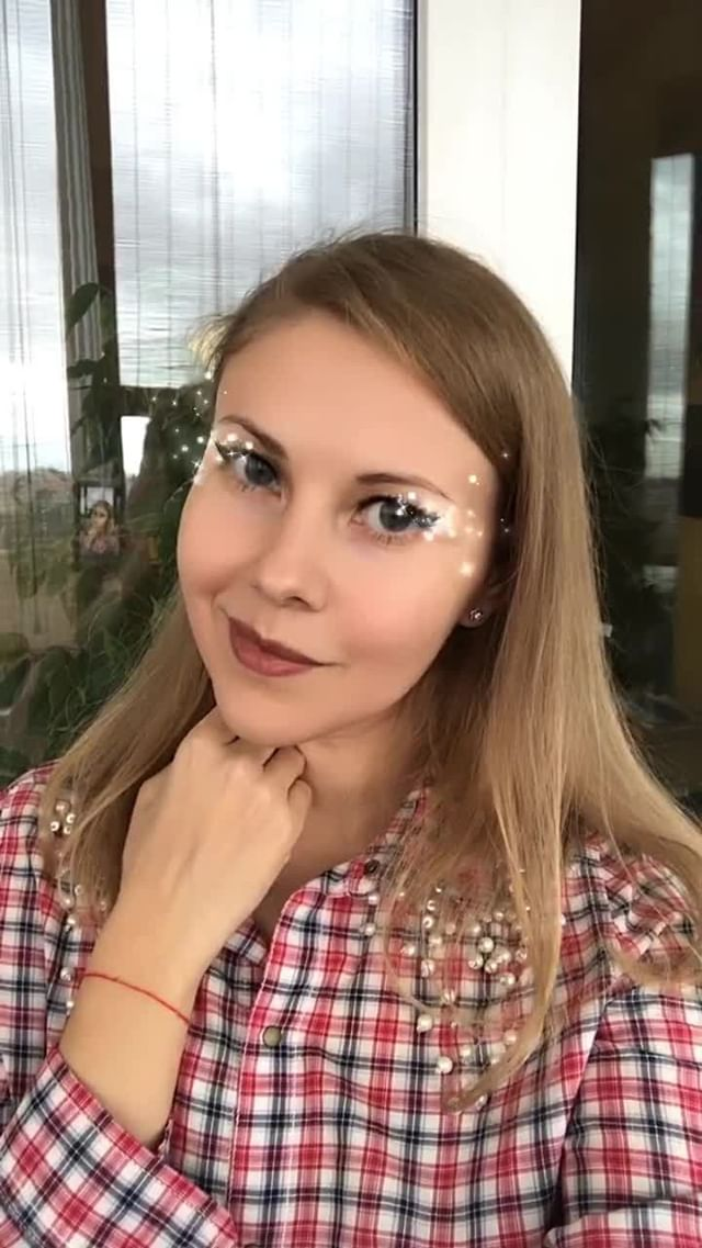 Instagram filter Sparkling eyes