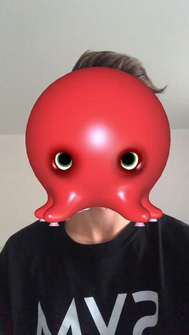 Instagram filter Lil Octopus